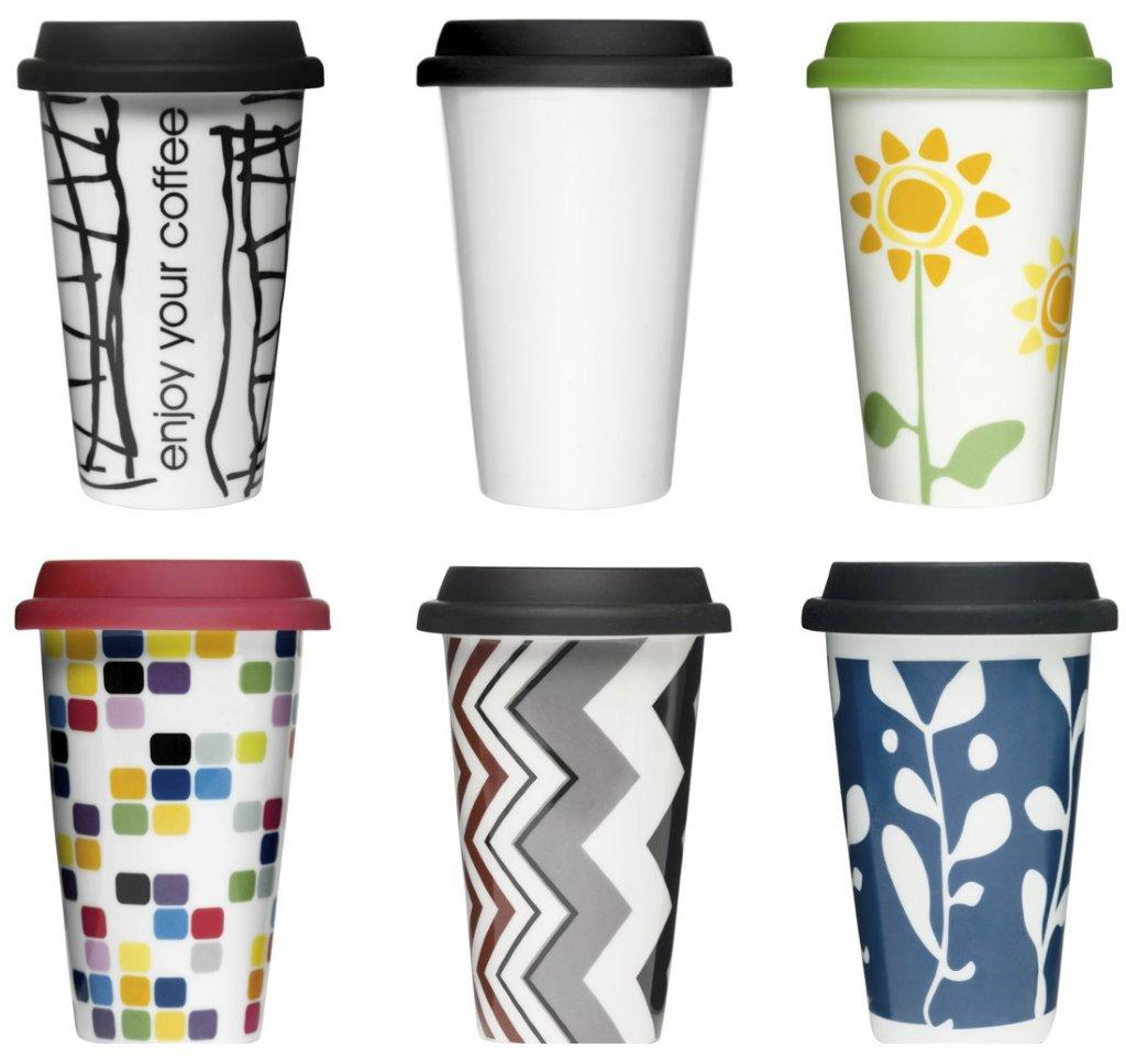 40 sale sagaform take away mug silicon lid hallon. Black Bedroom Furniture Sets. Home Design Ideas